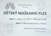 pozvanka_detsky_maskarni_ples_kdu-csl_hurka_2-2016_plakat_1