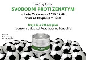 pozvanka_poutovy_fotbal_svobodni_proti_zenatym_hurka_7-2016_plakat